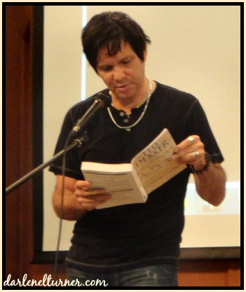 Ted reading from his upcoming release in October A.D. 30 (can't wait!)