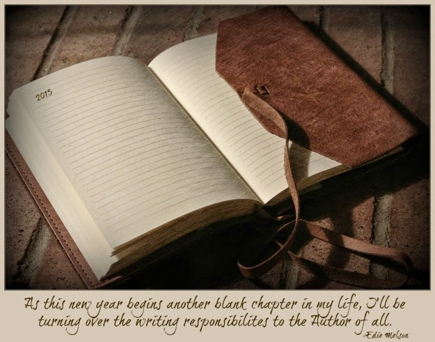 One of the areas I will be surrendering - my writing! (photo used with permission - http://thewriteconversation.blogspot.ca/)