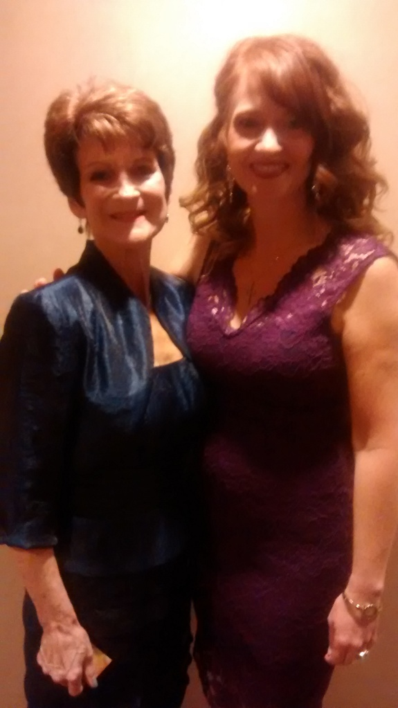 DiAnn and I - she's my amazing mentor!